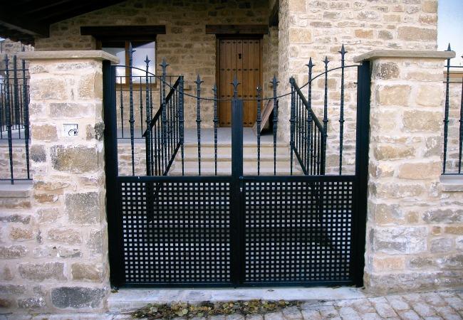 Puerta con forma
